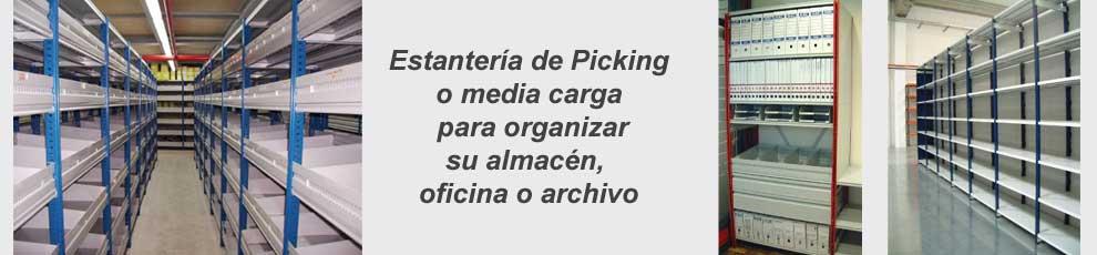 estanteria para almacen archivo y oficina